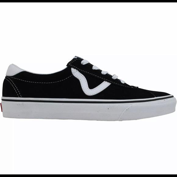 NEW Vans Vans Sport Black Suede Men's Size 8.5